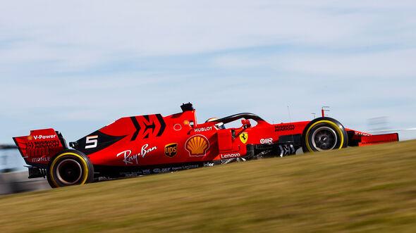 Sebastian Vettel - Ferrari - Fórmula 1 - GP USA - Austin - 1 de noviembre de 2019