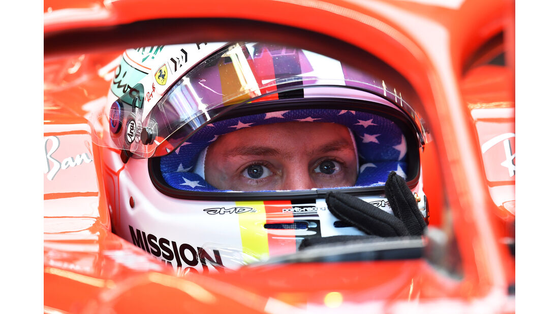 Sebastian Vettel - Ferrari - Formel 1 - GP USA - Austin - 20. Oktober 2018