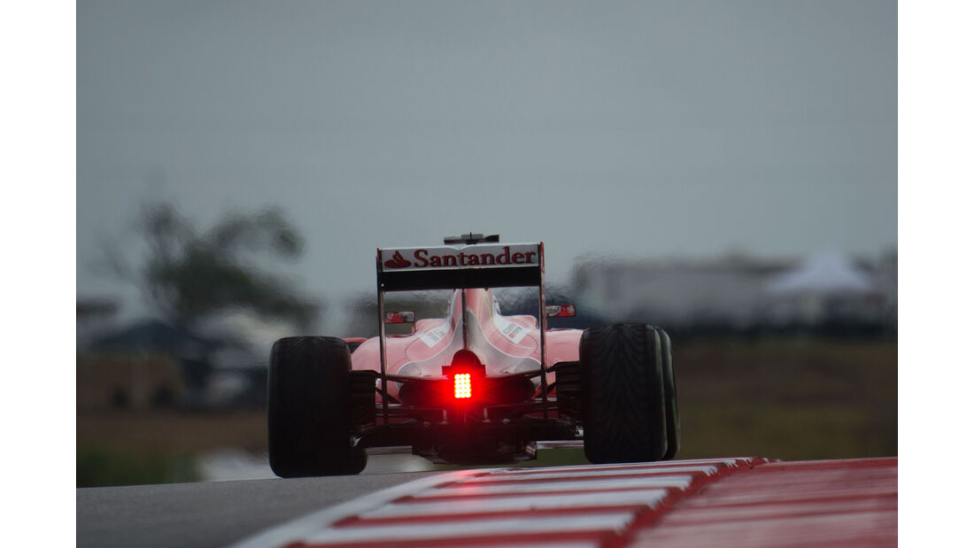 Sebastian Vettel - Ferrari - Formel 1 - GP USA - Austin - 23. Oktober 2015