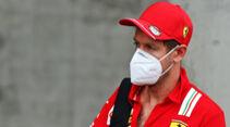 Sebastian Vettel - Ferrari - Formel 1 - GP Ungarn - Budapest - 16. Juli 2020