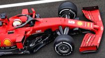 Sebastian Vettel - Ferrari - Formel 1 - GP Ungarn - Budapest - 17. Juli 2020