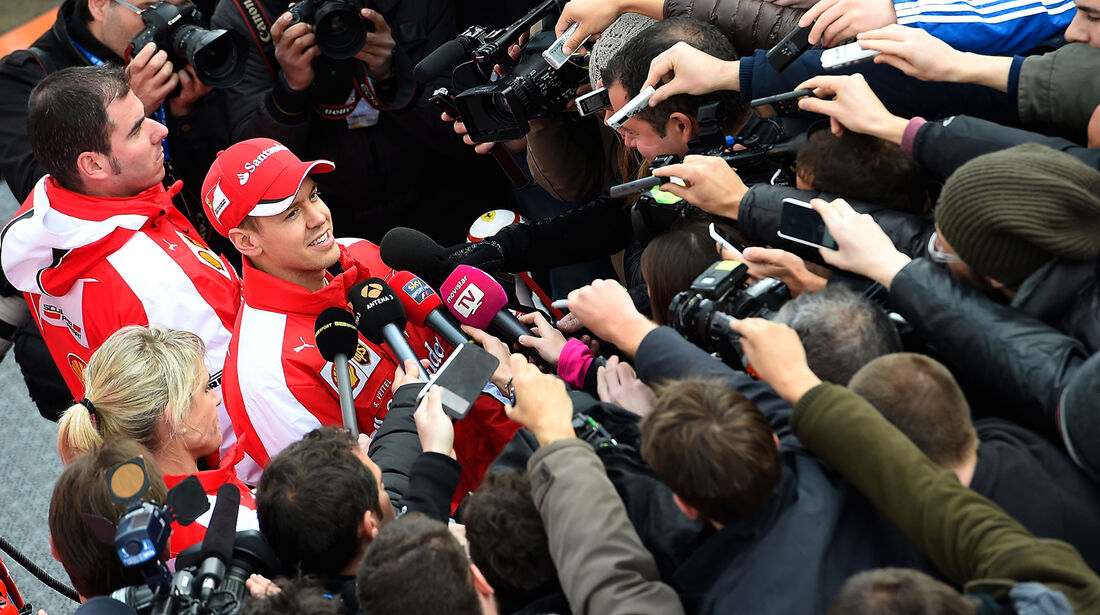 Sebastian Vettel - Ferrari - Formel 1 - Jerez - 2015
