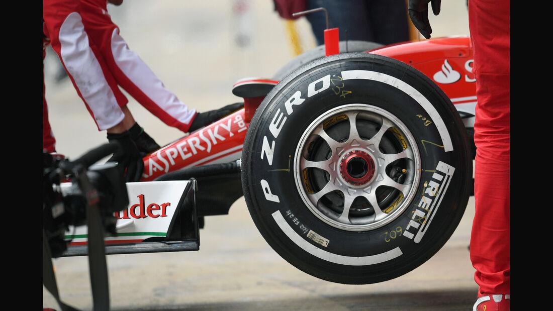 Sebastian Vettel - Ferrari - Formel 1-Test - Barcelona - 19. Februar 2015