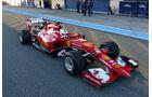 Sebastian Vettel - Ferrari - Formel 1-Test Jerez - 1. Januar 2015