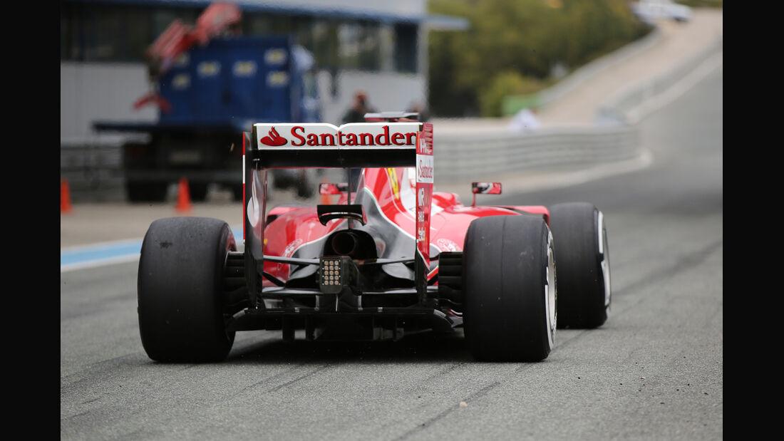 Sebastian Vettel - Ferrari - Formel 1-Test - Jerez - 2. Februar 2015