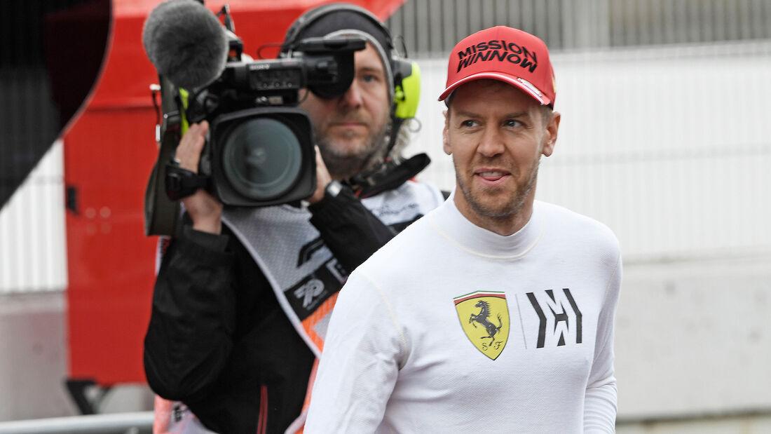 Sebastian Vettel - Ferrari - Formel 1 - Testfahrten 2020