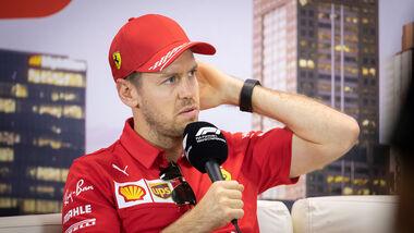 Sebastian Vettel - Ferrari - Formel 1 - Testfahrten 2020 - Barcelona