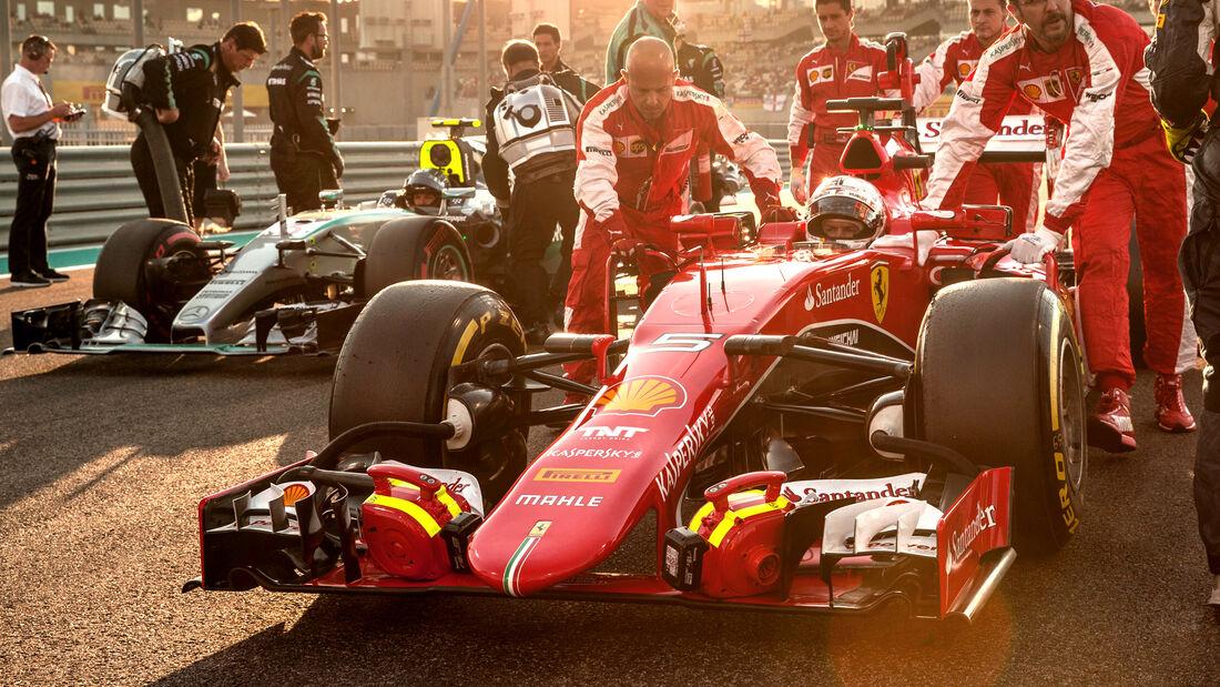 Sebastian Vettel - Ferrari - GP Abu Dhabi 2015