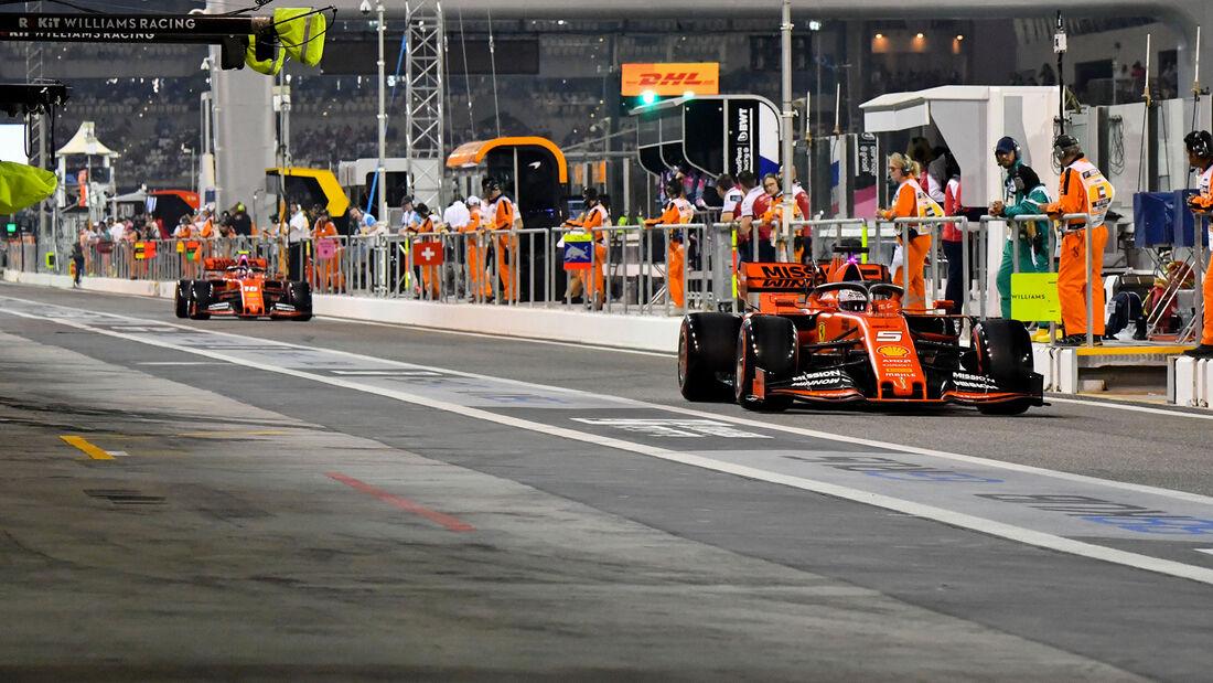 Sebastian Vettel - Ferrari - GP Abu Dhabi 2019