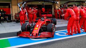 Sebastian Vettel - Ferrari - GP Abu Dhabi 2020