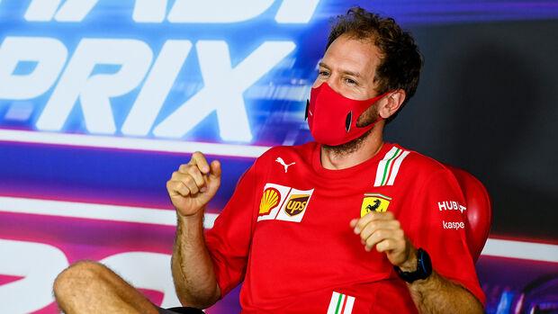 Sebastian Vettel - Ferrari - GP Abu Dhabi 2020 - Donnerstag - 10.12.2020