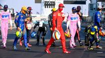 Sebastian Vettel - Ferrari - GP Abu Dhabi 2020 - Rennen