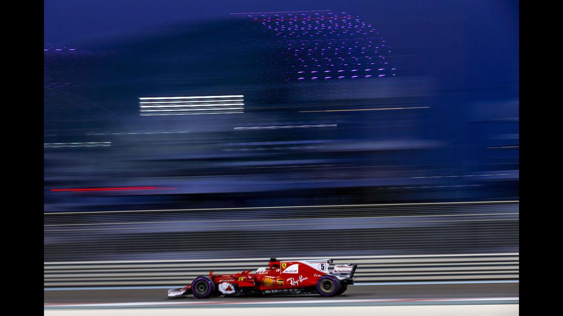 Sebastian Vettel - Ferrari - GP Abu Dhabi - 25. November 2017