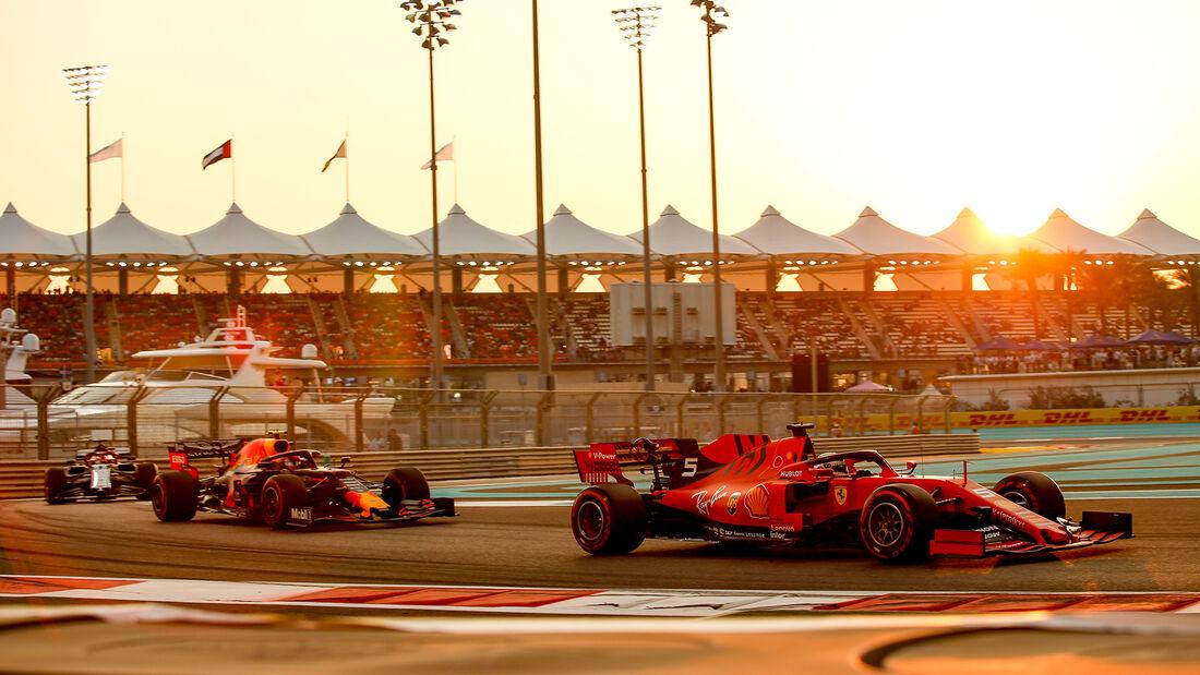 Sebastian Vettel - Ferrari - GP Abu Dhabi - Formel 1 - Samtag - 30.11.2019