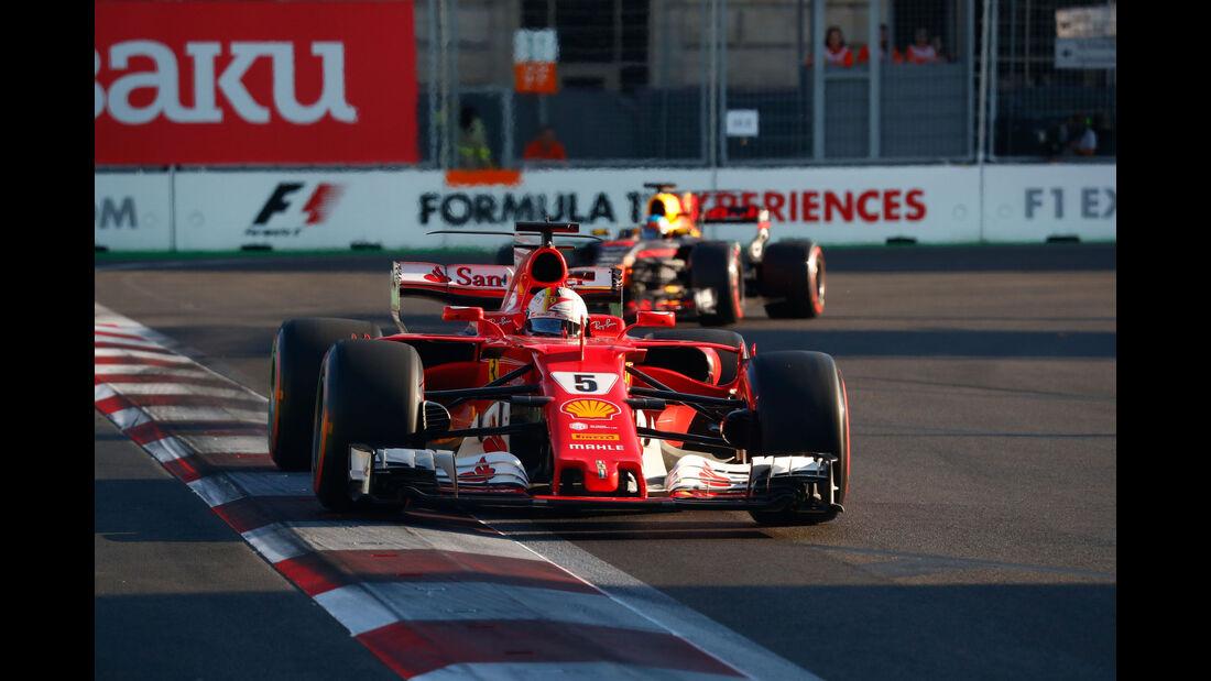 Sebastian Vettel - Ferrari - GP Aserbaidschan 2017 - Baku