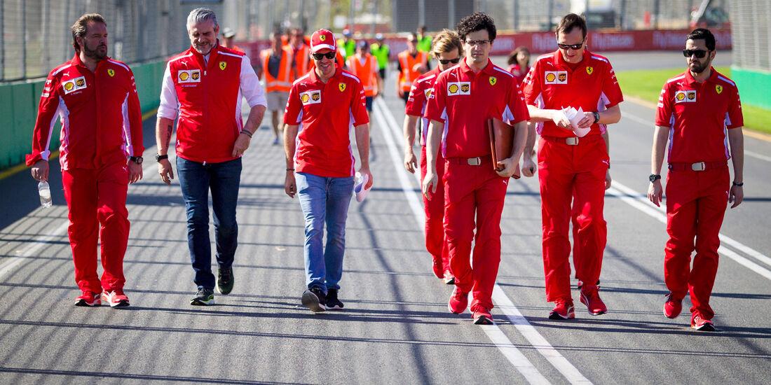 Sebastian Vettel - Ferrari - GP Australien 2018 - Melbourne - Albert Park - Mittwoch - 21.3.2018