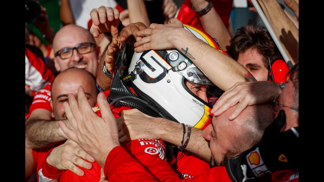 Sebastian Vettel - Ferrari - GP Australien 2018 - Melbourne - Rennen