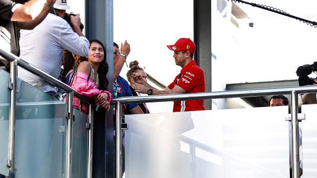 Sebastian Vettel - Ferrari - GP Australien 2020