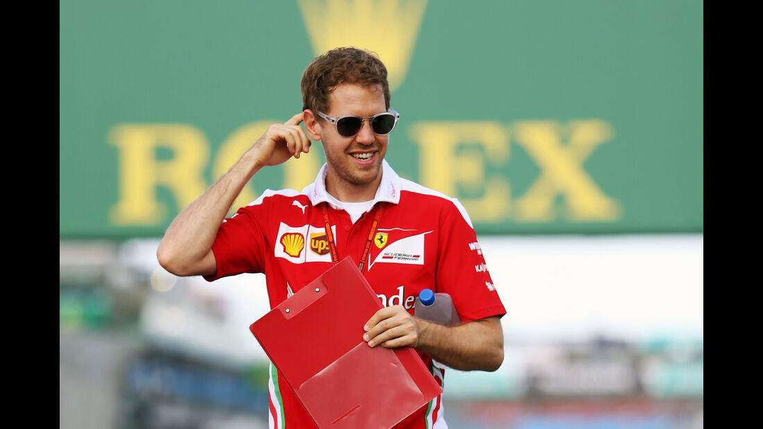 Sebastian Vettel - Ferrari - GP Australien - Melbourne - 16. März 2016