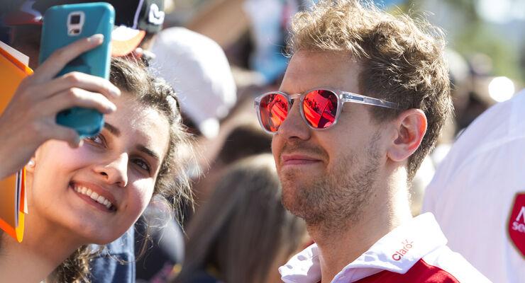 Sebastian Vettel - Ferrari - GP Australien - Melbourne - 17. März 2016