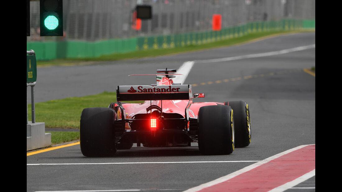 Sebastian Vettel - Ferrari - GP Australien - Melbourne - 24. März 2017