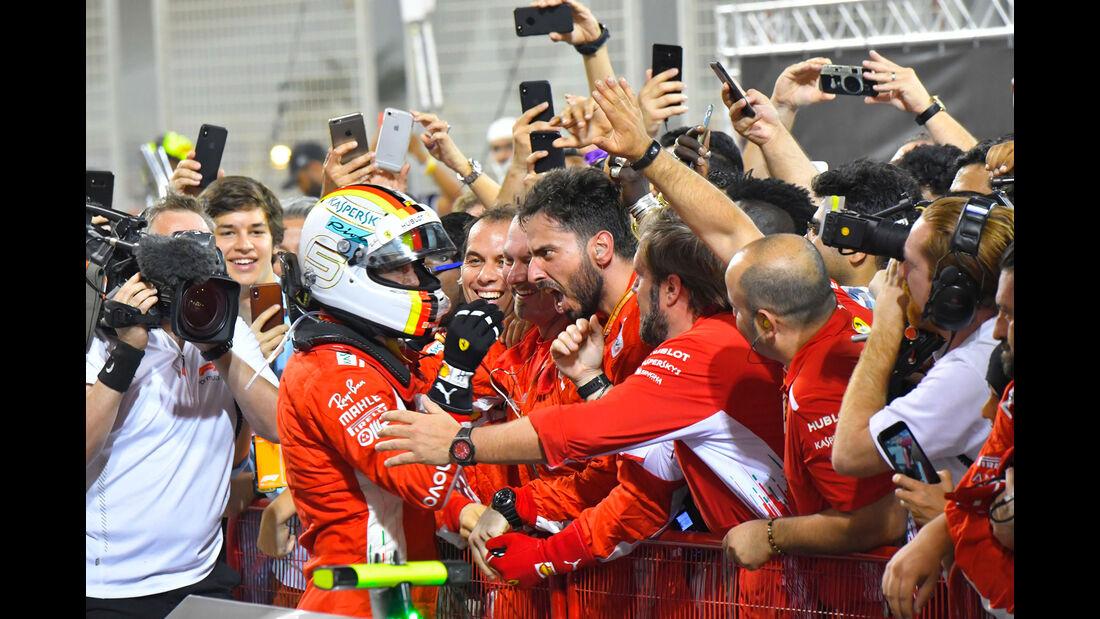 Sebastian Vettel - Ferrari - GP Bahrain 2018