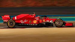 Sebastian Vettel - Ferrari - GP Bahrain 2020 - Sakhir