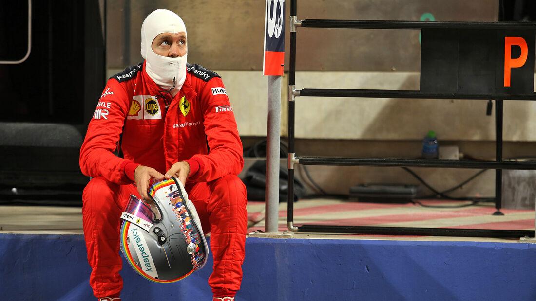 Sebastian Vettel - Ferrari - GP Bahrain 2020 - Sakhir - Rennen