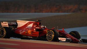 Sebastian Vettel - Ferrari - GP Bahrain - Sakhir - Freitag - 14.4.2017