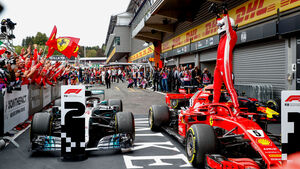 Sebastian Vettel - Ferrari - GP Belgien 2018 - Spa