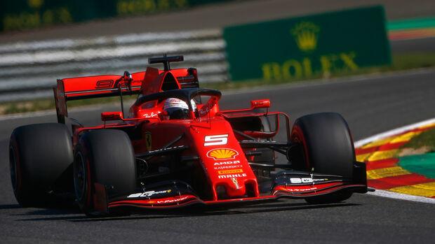 Sebastian Vettel - Ferrari - GP Belgien 2019 - Spa-Francorchamps - Qualifying
