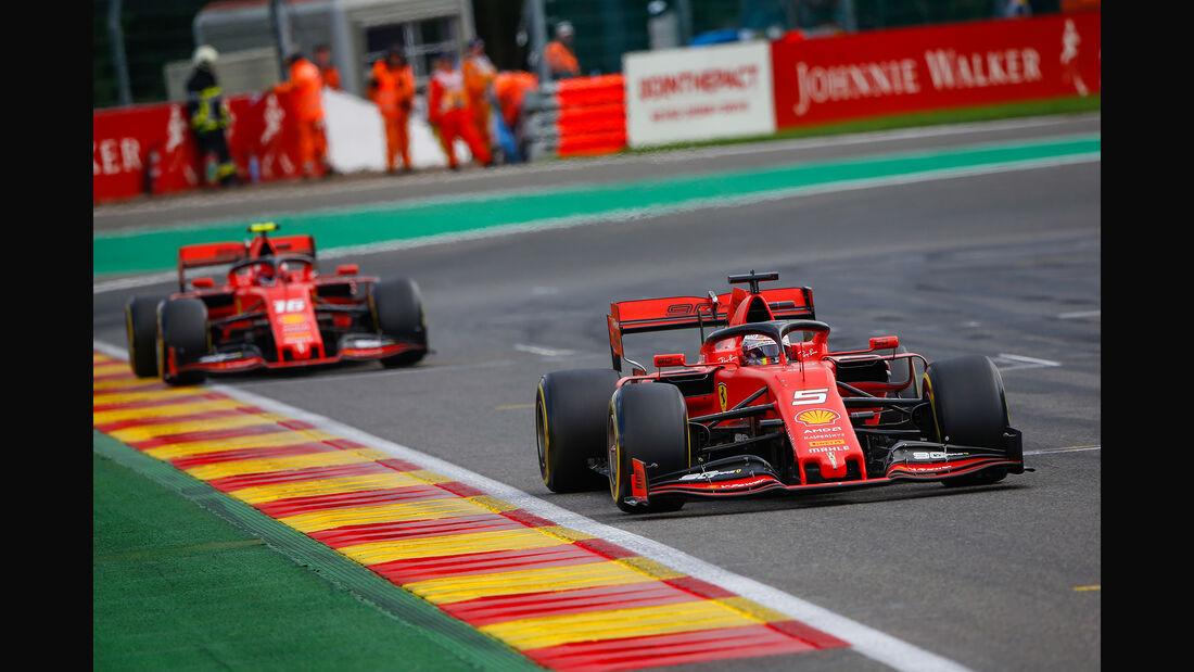 Sebastian Vettel - Ferrari - GP Belgien 2019 - Spa-Francorchamps