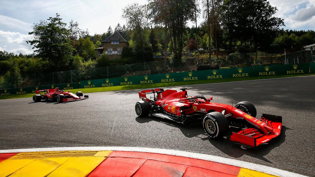 Sebastian Vettel - Ferrari - GP Belgien 2020 - Spa-Francorchamps