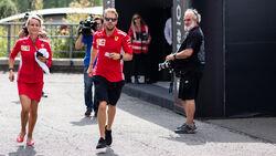 Sebastian Vettel - Ferrari - GP Belgien - Donnerstag - 23.8.2018