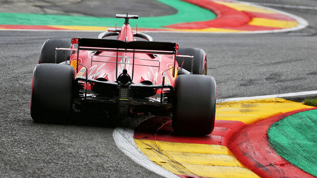 Sebastian Vettel - Ferrari - GP Belgien - Spa-Francorchamps - 29. August 2020