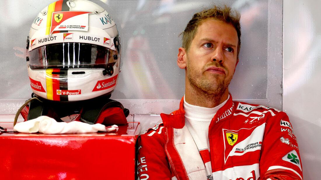 Sebastian Vettel - Ferrari - GP Belgien - Spa-Francorchamps - Formel 1 - 25. August 2017