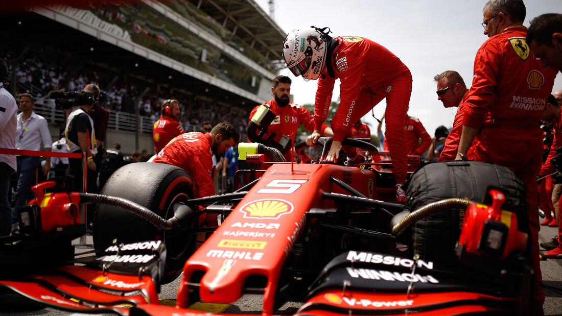 Sebastian Vettel - Ferrari - GP Brasilien 2019