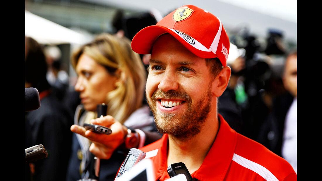Sebastian Vettel - Ferrari - GP Brasilien - Interlagos - Formel 1 - Donnerstag - 8.11.2018