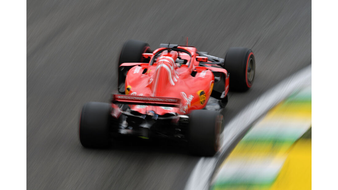Sebastian Vettel - Ferrari - GP Brasilien - Interlagos - Formel 1 - Samstag - 10.11.2018