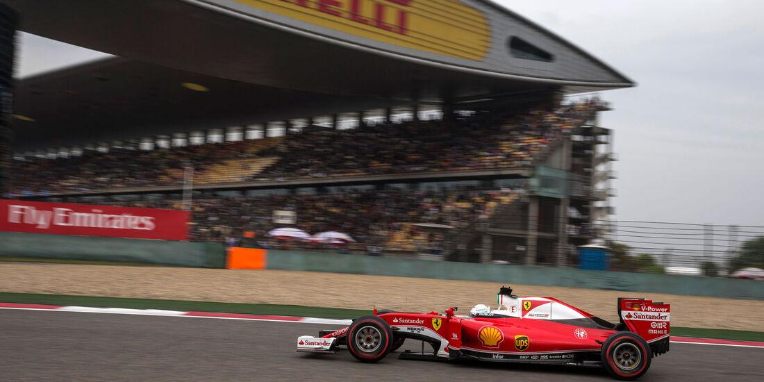 Sebastian Vettel - Ferrari - GP China 2016 - Shanghai - Qualifying - 16.4.2016