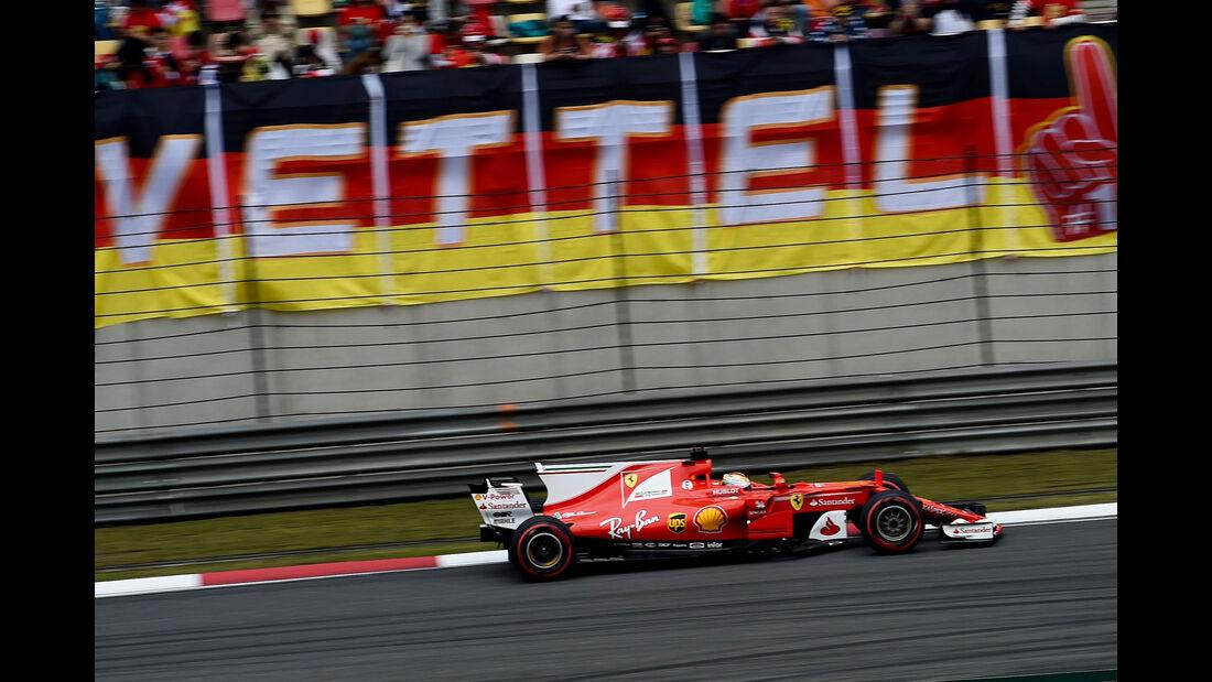 Sebastian Vettel - Ferrari -  GP China 2017 - Qualifying - 8.4.2017
