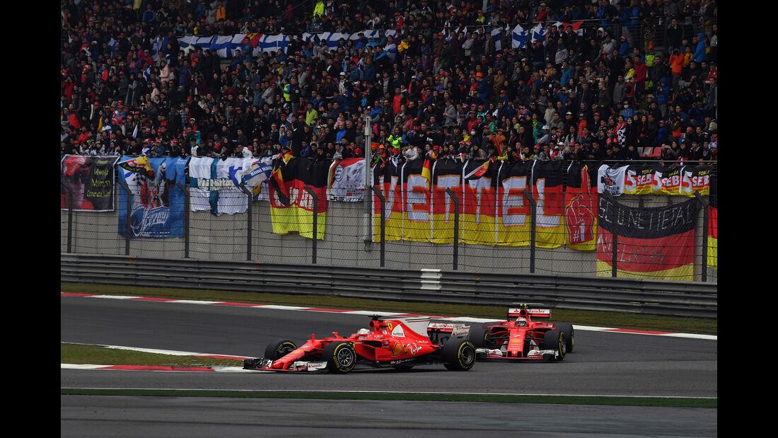 Sebastian Vettel - Ferrari - GP China 2017 - Shanghai - Rennen