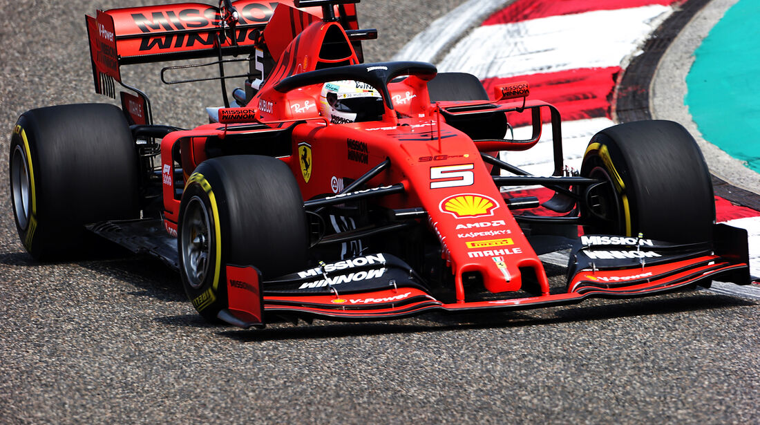 Sebastian Vettel - Ferrari - GP China - Shanghai - Formel 1 - Freitag - 12.4.2019