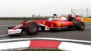 Sebastian Vettel - Ferrari - GP China - Shanghai - Freitag - 15.04.2016
