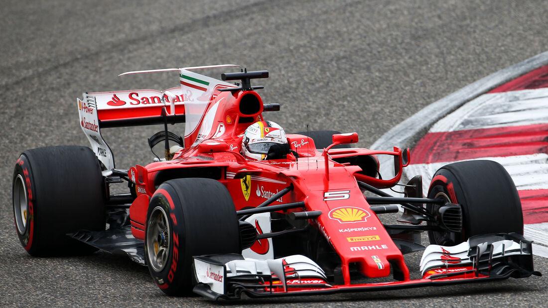 Sebastian Vettel - Ferrari - GP China - Shanghai - Samstag - 8.4.2017