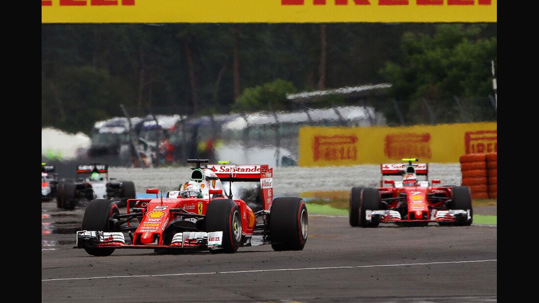 Sebastian Vettel - Ferrari - GP Deutschland 2016 - Hockenheim