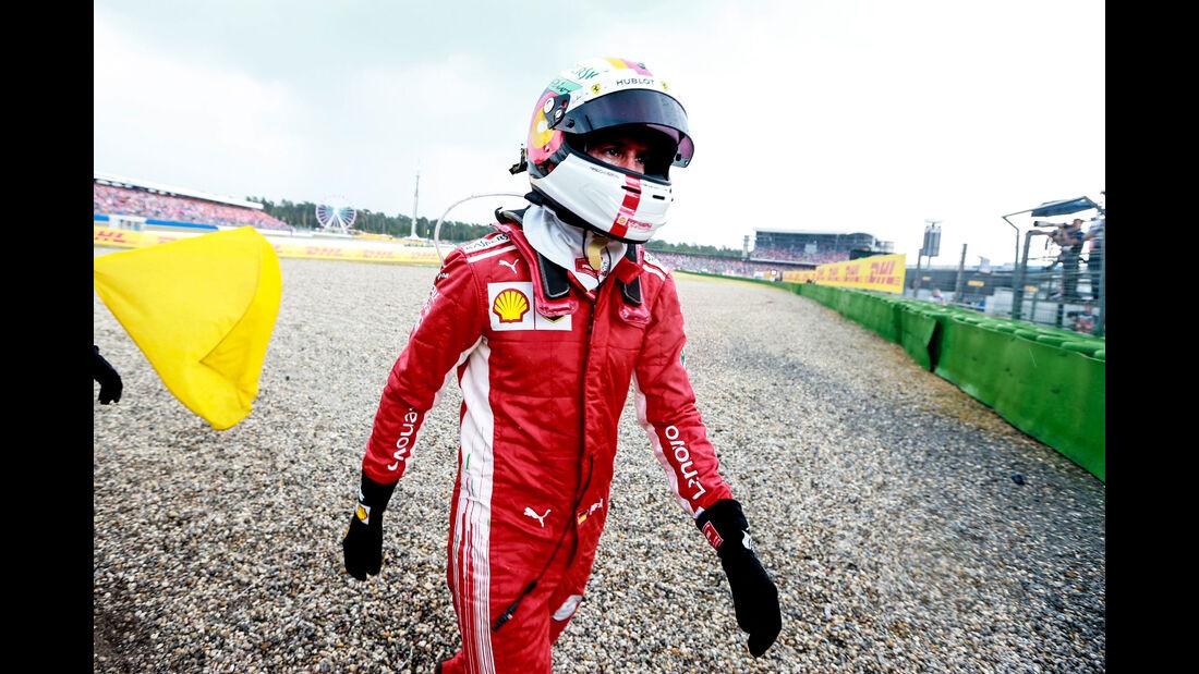 Sebastian Vettel - Ferrari - GP Deutschland 2018 - Rennen