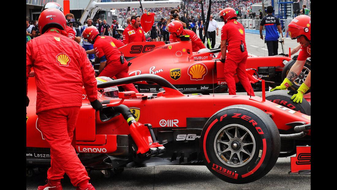 Sebastian Vettel - Ferrari - GP Deutschland 2019 - Hockenheim - Qualifying