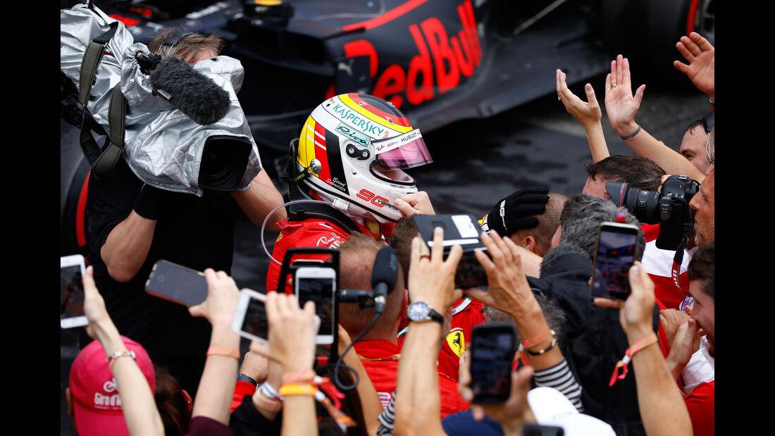 Sebastian Vettel - Ferrari - GP Deutschland 2019 - Hockenheim - Rennen