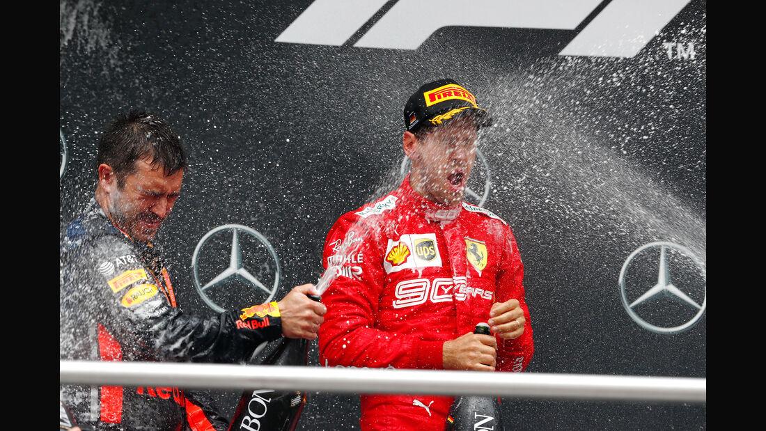Sebastian Vettel - Ferrari - GP Deutschland 2019 - Hockenheim